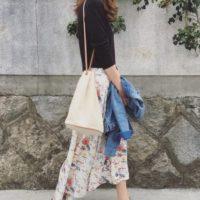 春夏のロングスカート着こなし術特集!!華やかさとふんわり感で魅力倍増!