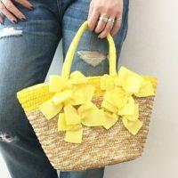 この春夏はキュートな『黄色のバッグ』でおしゃれ度アップ!