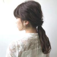 しっとりとした魅力がたまらない!フェミニンなヘアアレンジで大人髪♡