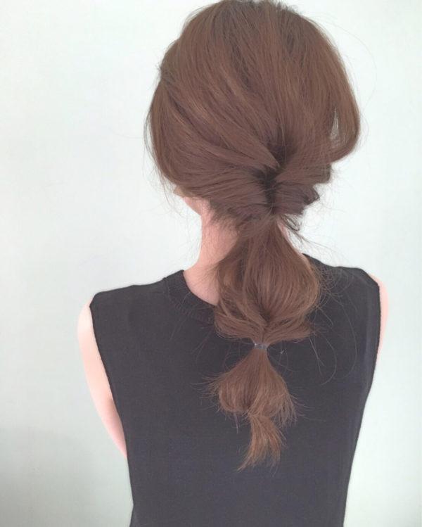 ロングのまとめ髪2
