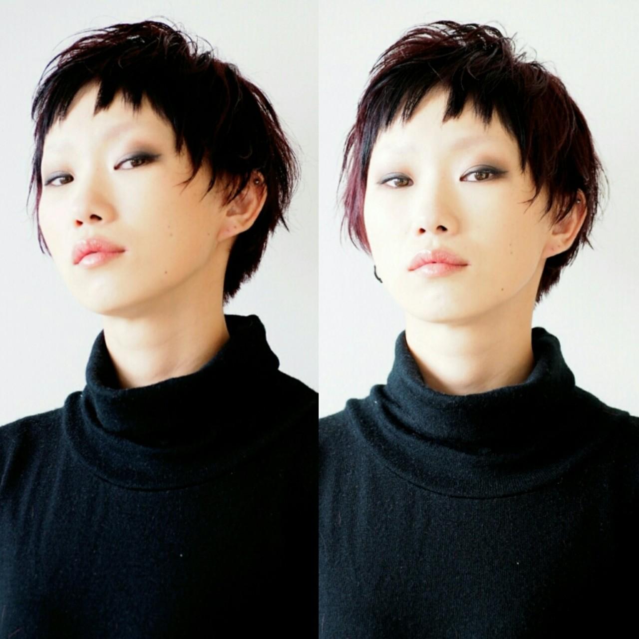 ベリーショートヘア6
