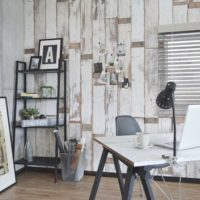 自分でも簡単に出来る♪壁紙を使って部屋をもっとお洒落な空間にしてみませんか?