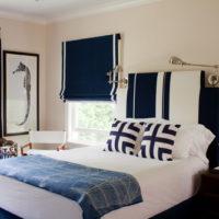 心落ち着く空間!ブルーを使ったインテリアがおしゃれなベッドルーム