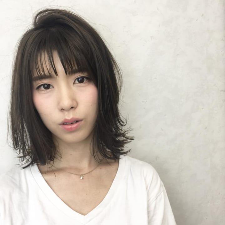 【前髪あり】ストレートボブ24