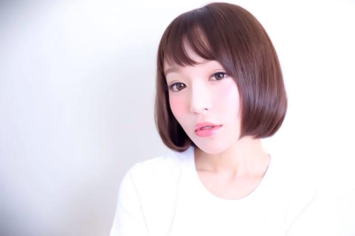 【前髪あり】ストレートボブ29