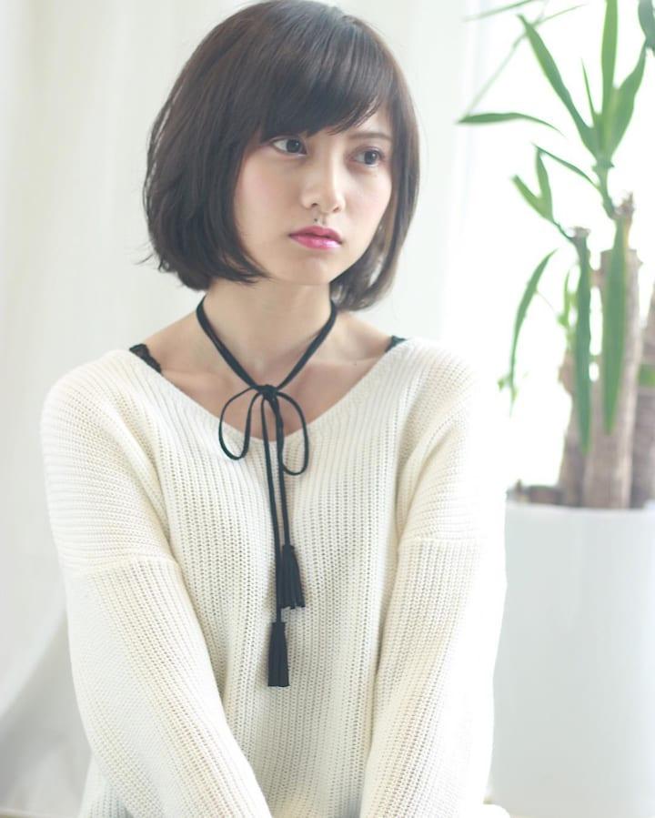 【前髪あり】ストレートボブ36