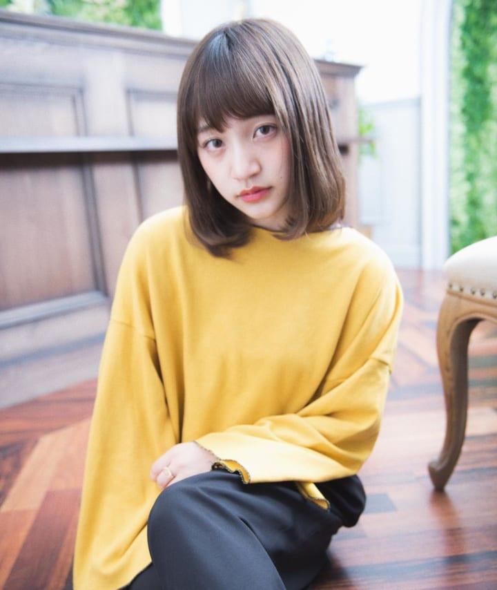 【黒髪】ストレートボブ20