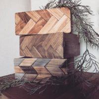 DIY初心者にもおすすめ!100均木箱を自分好みにリメイクしておしゃれな雑貨を作ろう♡