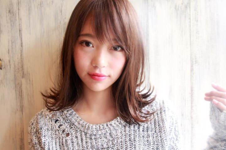 【前髪あり】ストレートボブ22