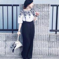 モノトーンコーデでスタイリッシュに!白と黒が織りなすオトナのスタイル