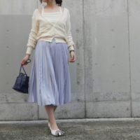 軽やかに着こなしたい、大人のプリーツスカート。春にぴったりのプリーツスカートコーデ9選♪