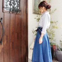 春こそ着たい!GUのスカートで素敵に変身して女性らしさをグッとUP!