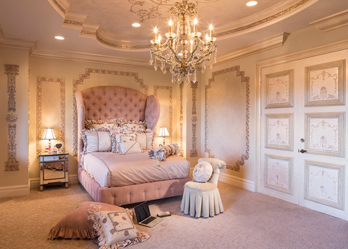 豪華なお城に住んでいるかのよう♡プリンセスのベッドルームを思わせるインテリアをご紹介! Folk