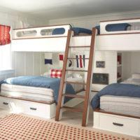 憧れの二段ベッドで特別な自分空間を作ろう!大人も憧れる素敵な寝室