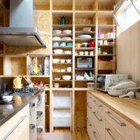 壁面収納が使える!収納力アップで使いやすく綺麗なキッチンを目指そう