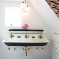 手洗いボウルを、お洒落なデザインに替えてホテルライクな洗面所にしてみませんか♪
