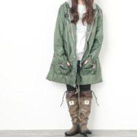 話題の「野鳥の会」レインブーツはこう履きこなす!梅雨のレインブーツコーデ☆