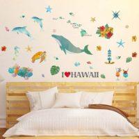 DIYで楽しい気分に!子ども部屋にぴったりの壁紙&ウォールステッカー20選♡