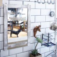 お部屋も広く見える?身だしなみの必需品☆すてきな鏡のある風景15選