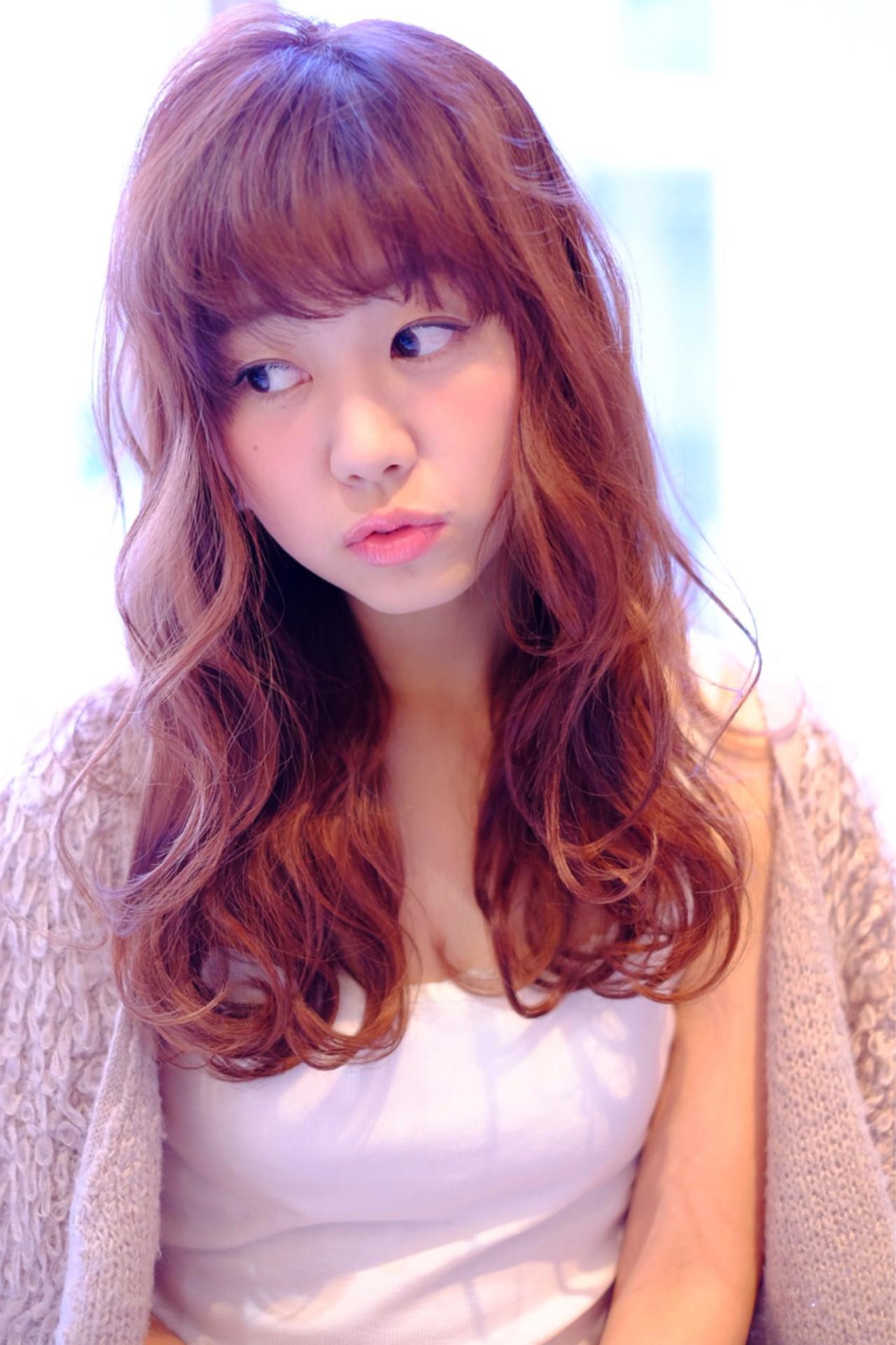 前髪ありスタイル5