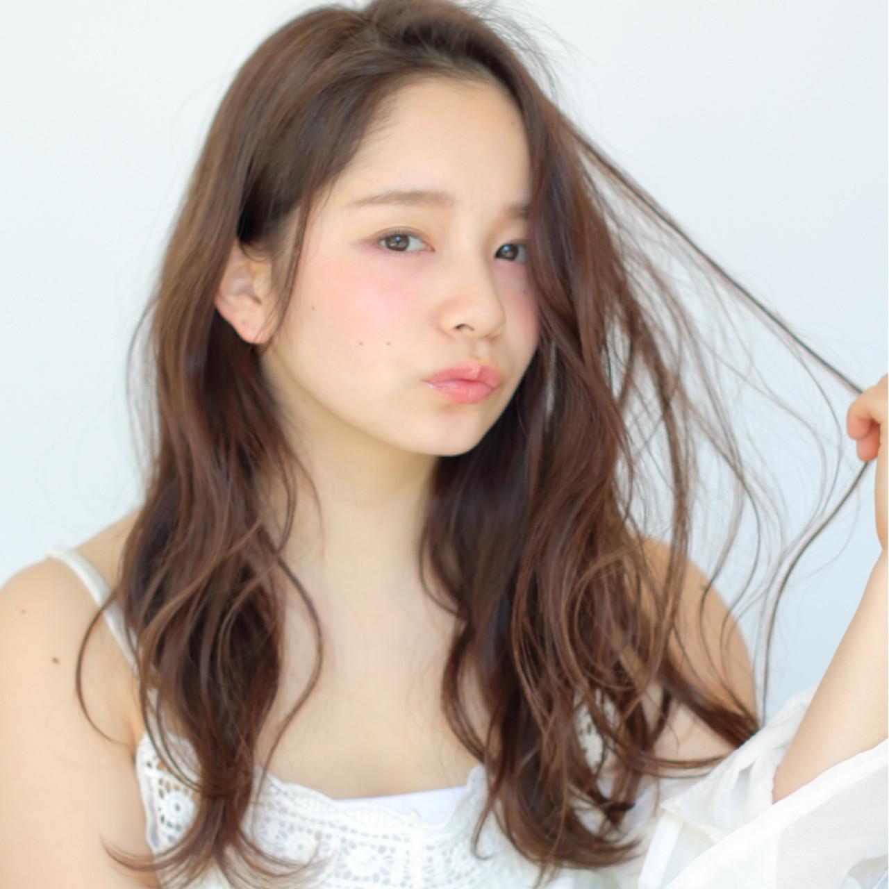 前髪なしスタイル12