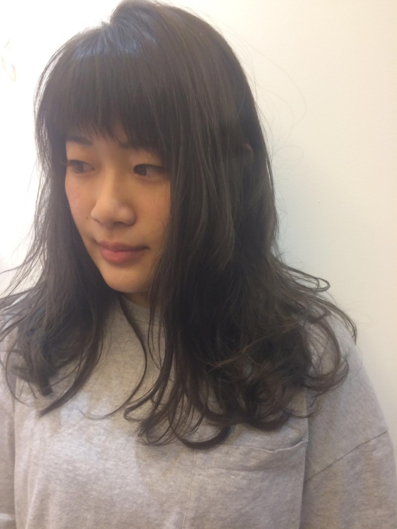 前髪ありスタイル4