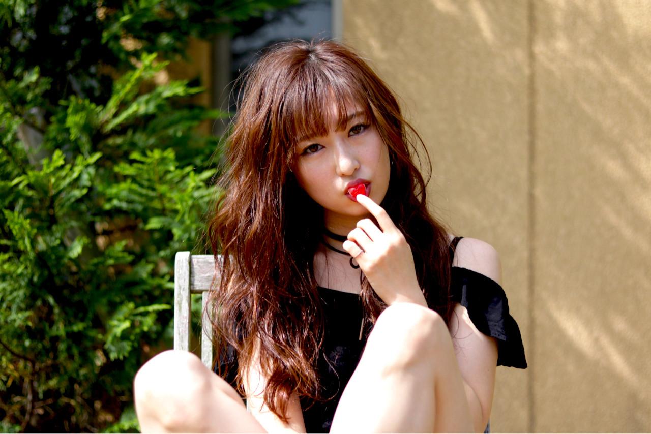 前髪ありスタイル8