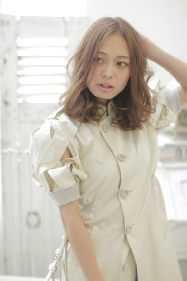 ミディアムパーマアレンジ特集☆45