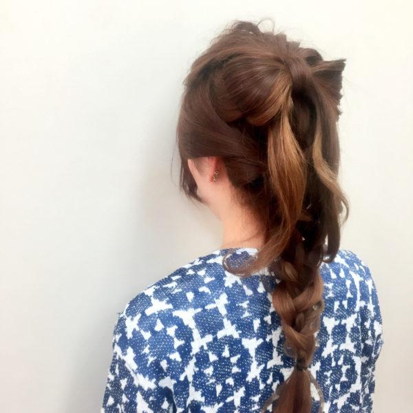 アップスタイル&まとめ髪4