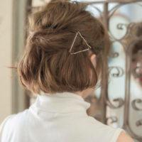 女性らしい色気も作れる♡ヘアアクセサリーを使った上品なまとめ髪特集!