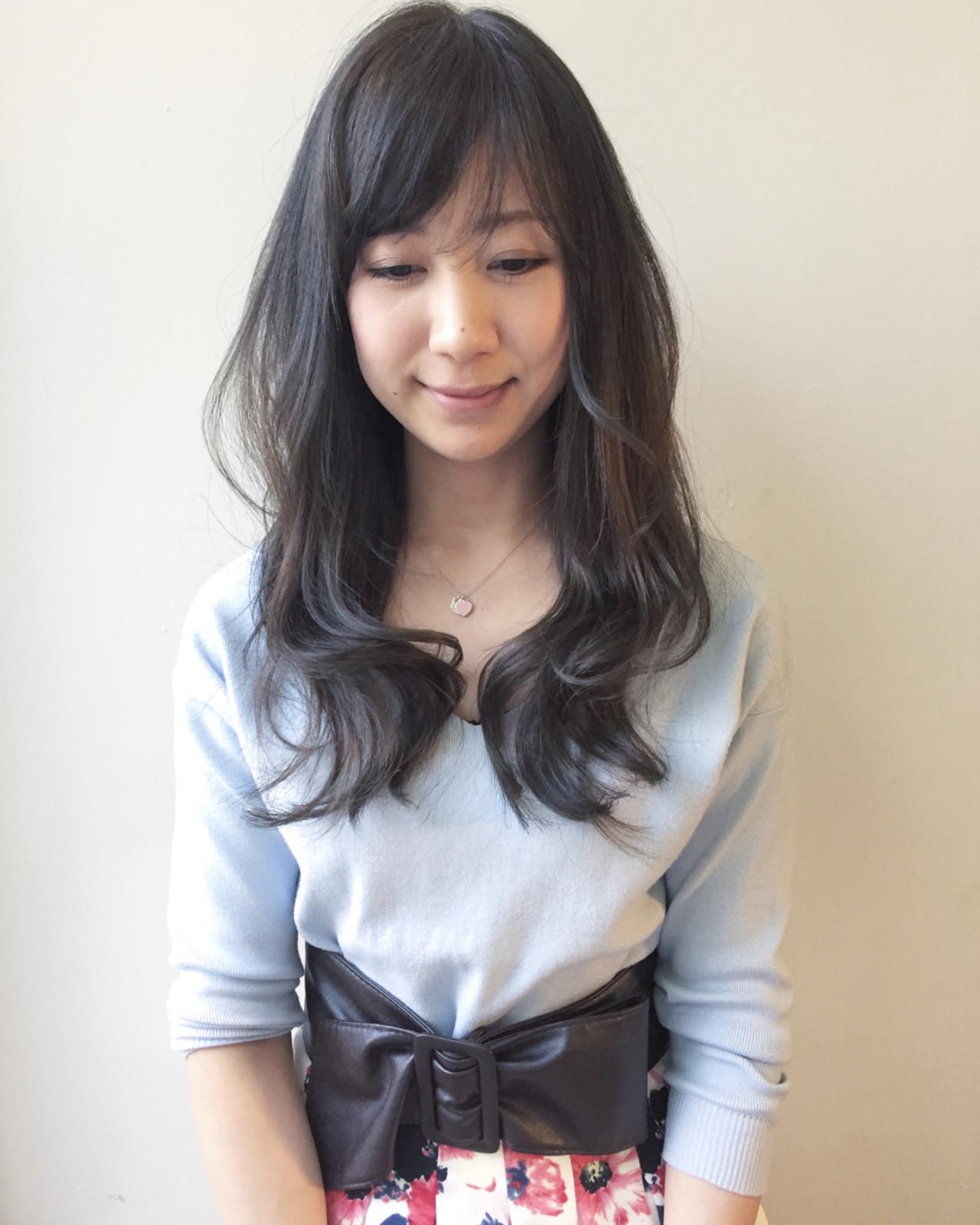 前髪ありスタイル10