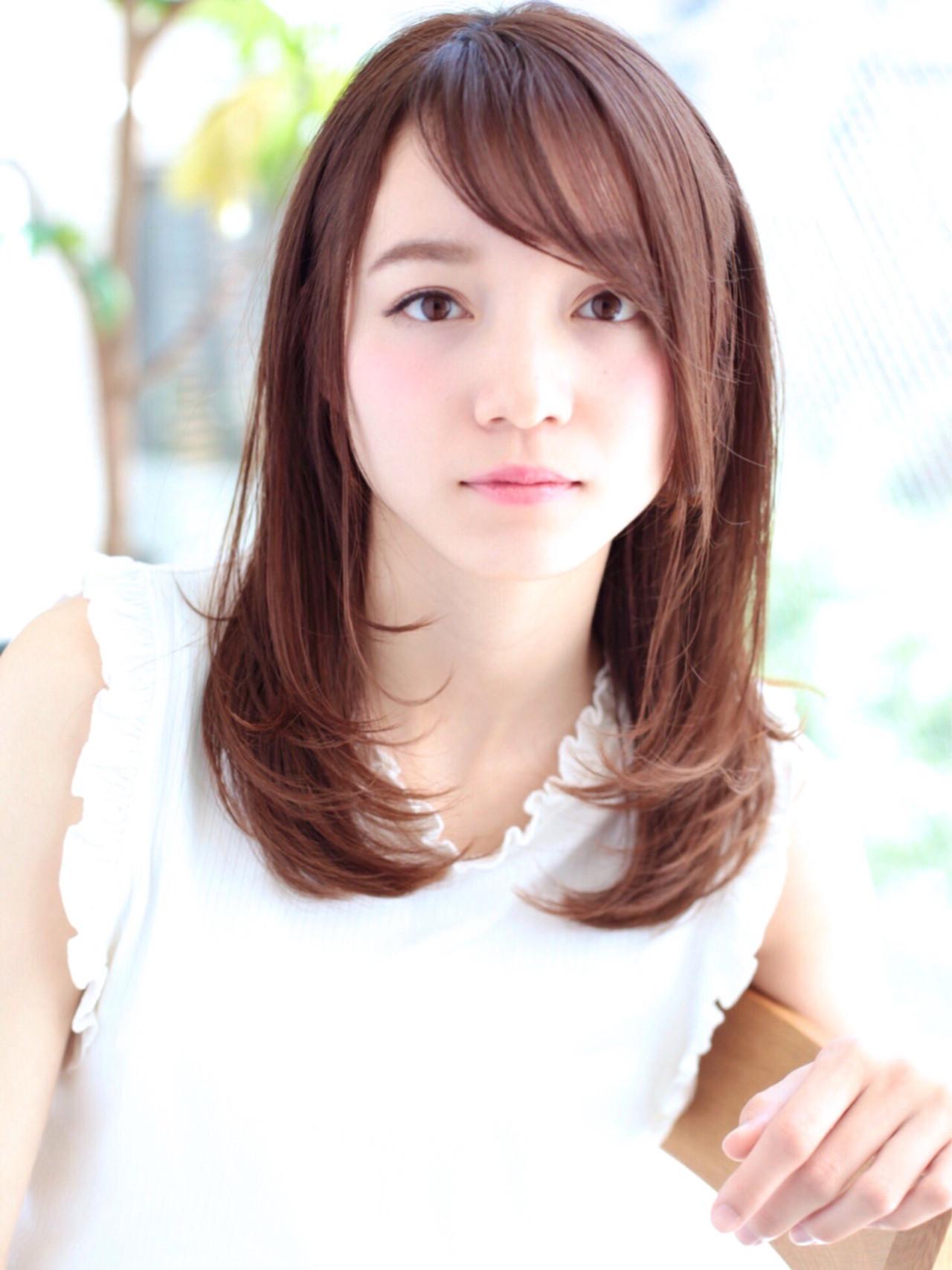 内巻きパーマ ミディアム3