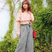 シャツもパンツもスカートも♡春夏は「ギンガムチェック」がかわいくておすすめ♡