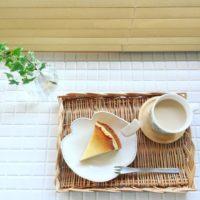 ぬくもりあふれるカフェスタイルに☆ランチョンマット&トレイを使おう!
