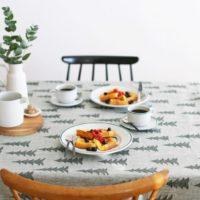 食卓のイメージを一新!テーブルクロスを使ったテーブルコーディネート実例集☆