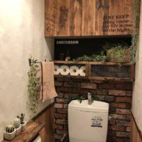 DIYしてトイレを使い勝手よく素敵に変身させてみるのもアリでしょ?