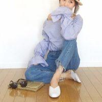 「スリッパサンダル」を大人っぽく履きたい!大人女性のスリッパサンダルコーデ実例