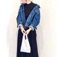 UNIQLO☆大人気タックフレアスカンツのコーディネートをご紹介☆