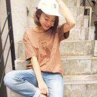 Tシャツで遊ぼう◎カッコよく着こなす、大人女子のプリントTシャツスタイル
