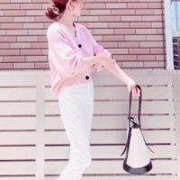 夏のさわやかコーデにもってこい☆《白パンツ》を使って清潔感のある大人コーデ♪