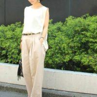 大人女子は「とろみ素材」をこう着る☆上品でオシャレな着こなし実例15選