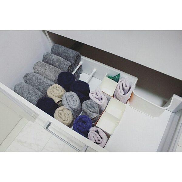 洗面台収納アイデア集61