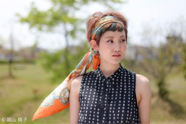 ベリーショートでもできるアレンジヘア4