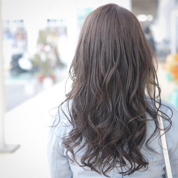 髪の美しさが際立つロング6