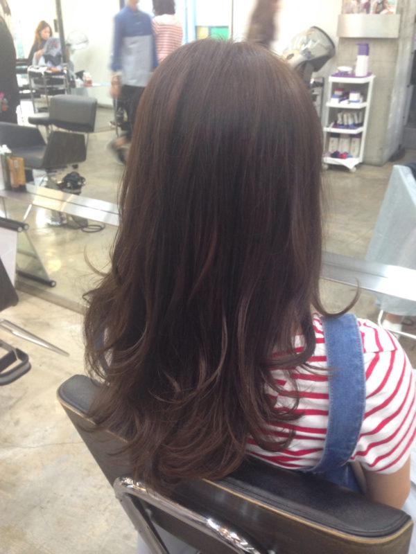 髪の美しさが際立つロング2
