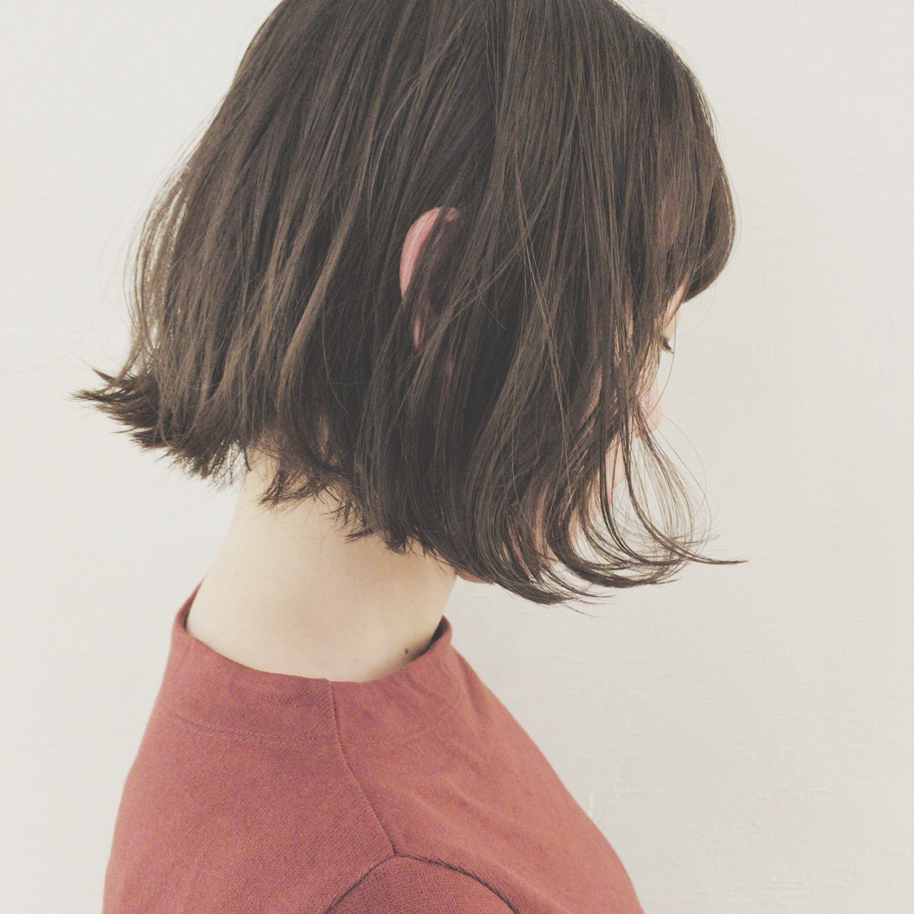 ショートボブのヘアアレンジ19