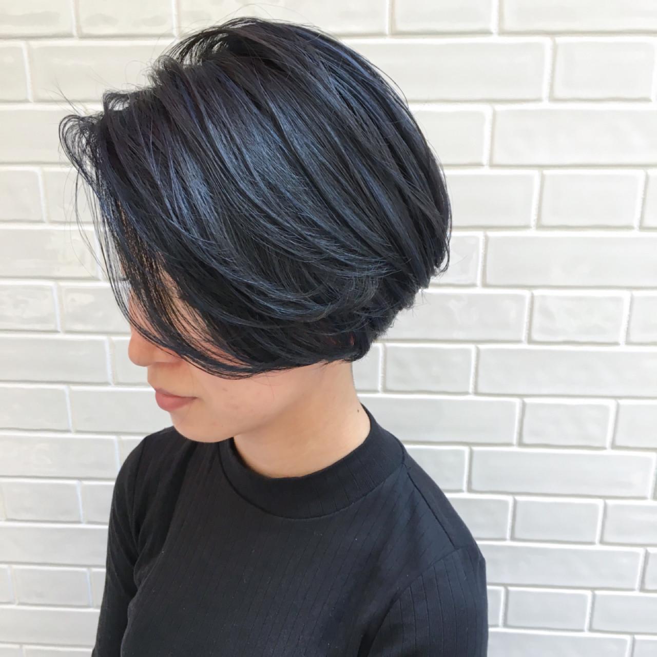 ショートボブのヘアアレンジ25