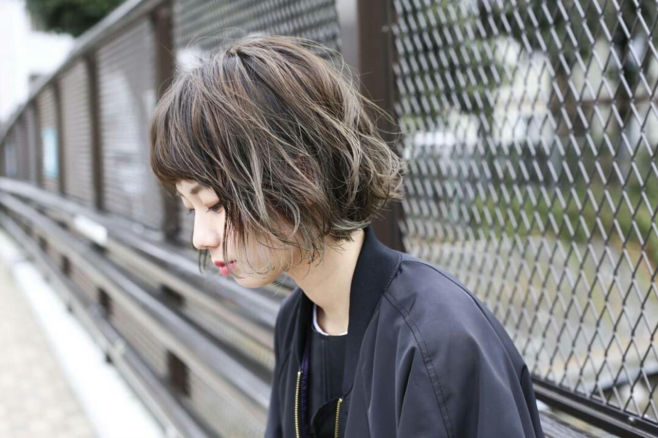 ショートボブのヘアアレンジ10
