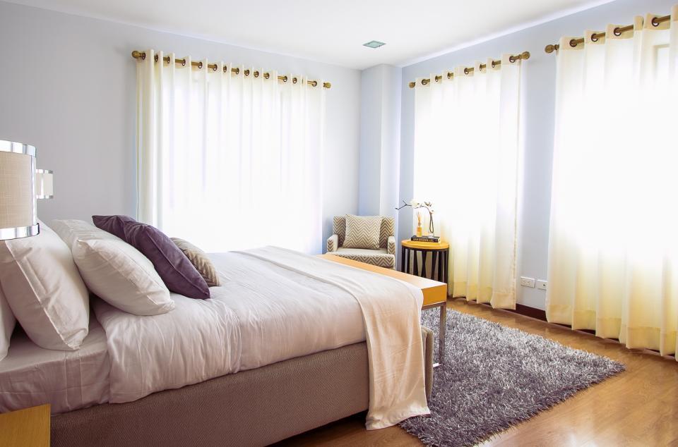 ナチュラル&シンプルなカーテンでお洒落なお部屋に18