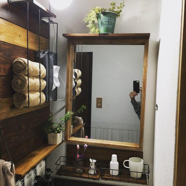 洗面台収納アイデア集17